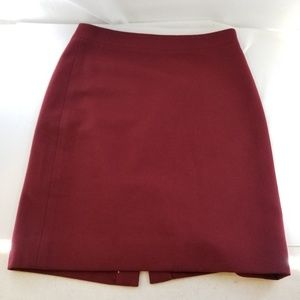 J. CREW The Pencil Skirt Red Skirt Sz 4